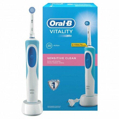≡ Зубна щітка BRAUN ORAL-B Vitality Sensitive D12 (кор) - купити в  інтернет-магазині ◁ ФОКСТРОТ ▷ ... 58efc43f3357c