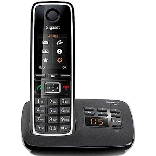 c079b5e685f69 ≡ Телефон GIGASET C530A Black - в интернет-магазине Фокстрот: цены ...