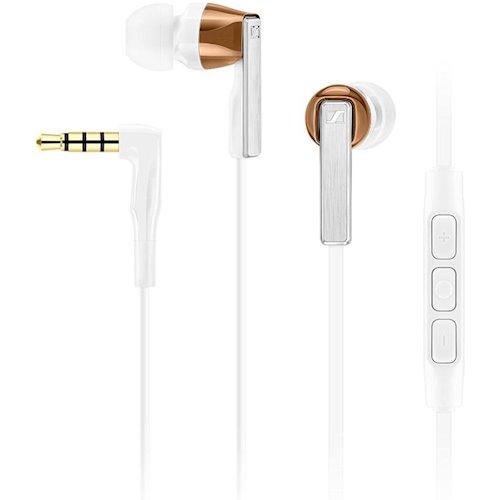 ≡ Навушники телефонна гарнітура Sennheiser CX 5.00 G White - купити ... b386de1293121