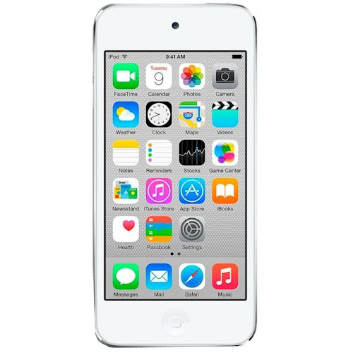 Apple  IPOD TOUCH 32GB WHITE & SILVER MODEL A1574  (MKHX2RP A)