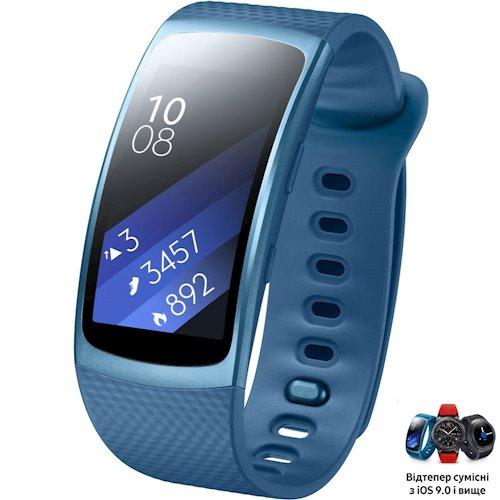 ≡ Фитнес-браслет SAMSUNG Gear Fit 2 (SM-R3600ZBASEK) Blue - в ... 77332ef67779f