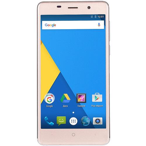 ≡ Смартфон BRAVIS A504 Trace 1 8Gb Dual Sim Gold - в интернет ... c18036f130b13