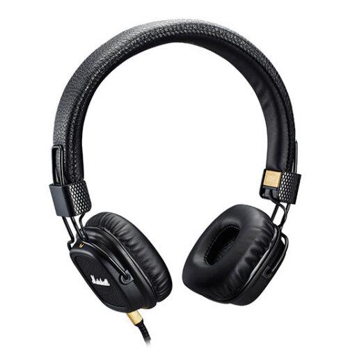 ≡ Наушники с микрофоном MARSHALL Major II Black - в интернет ... f84de35ec1642