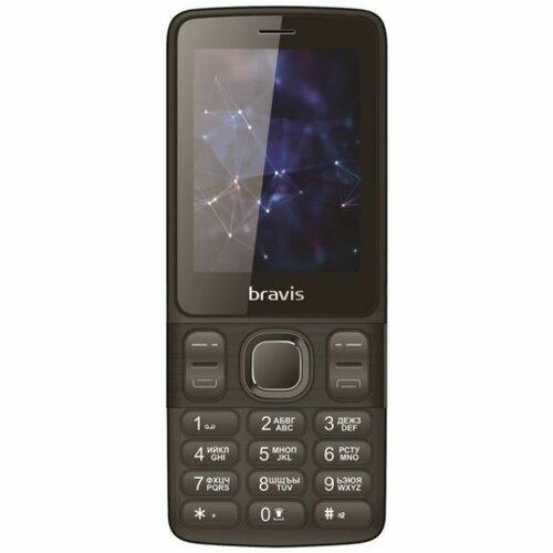 a44576c5efc54 ≡ Мобильный телефон BRAVIS C240 Middle Dual Sim Black - в интернет ...