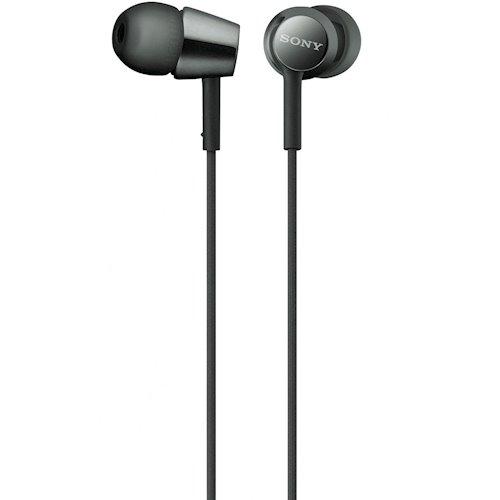 ≡ Навушники SONY MDR-EX155 Black (MDREX155B.E) - купити в інтернет ... 53ead828824ac