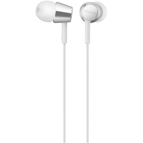≡ Навушники SONY MDR-EX155 White (MDREX155W.E) - купити в інтернет ... 2397654c64290