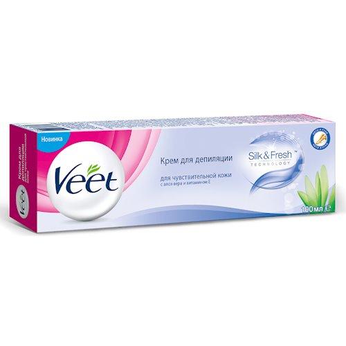 Крем для депиляции для чувствительной кожи VEET 100 мл (5903267902498)