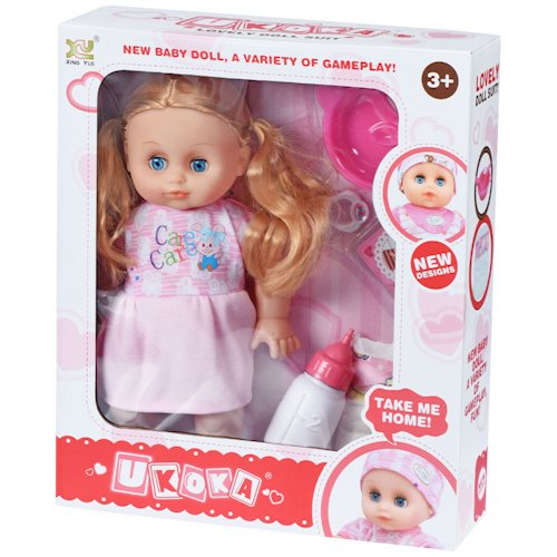 Кукла с аксессуарами SAME TOY 8015D4Ut