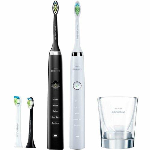 Купити Зубна щітка PHILIPS HX9334 41 Sonicare DiamondClean White Black 16916ae210a0d