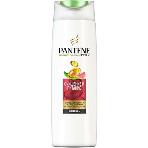 """Шампунь PANTENE PRO-V Nature Fusion """"Очищение и питание"""" 400мл (738830)"""