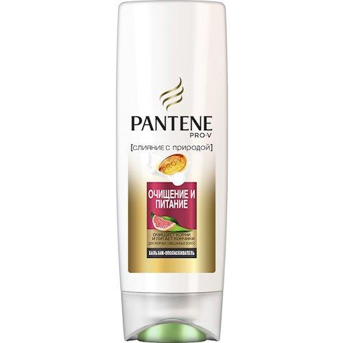 Бальзам-ополаскиватель PANTENE PRO-V Nature Fusion Очищение и Питание 200 мл (4084500673823)