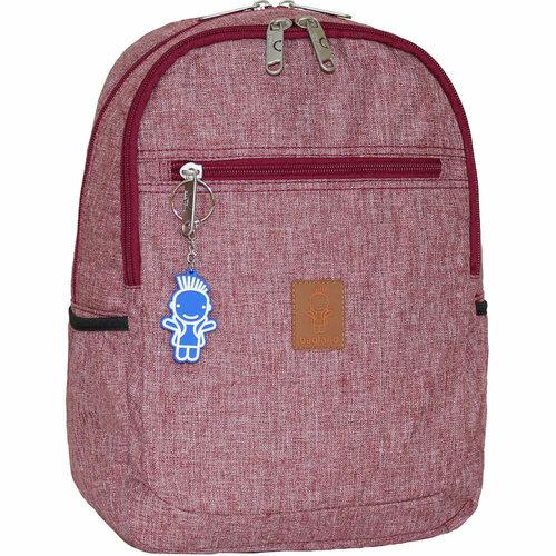Рюкзак BAGLAND Детский Young 13 л бордовый (0051069)