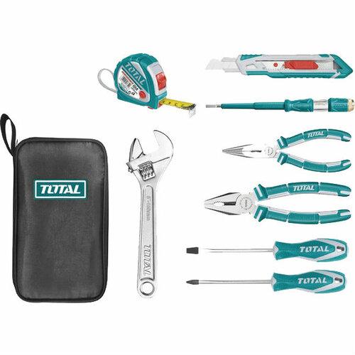 Набор инструментов TOTAL 8 шт + сумка (THKTHP90086)
