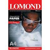 Термотрансферная бумага LOMOND Thermotransfer Inkjet Paper A4/50 for Light Fabrics (0808415)