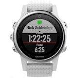 Купити Спортивний годинник GARMIN fenix 5S Silver with white Carrara band ( 010-01685- 14715d6c2c0e9