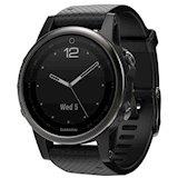 Купити Спортивний годинник GARMIN fenix 5S Sapphire Slate grey with black  band (010-01685 6c67dcfc43f85