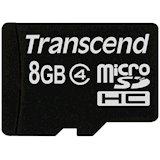 Карта памяти TRANSCEND microSDHC 8 GB Class 4 (TS8GUSDHC4)