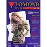 Бумага для печати LOMOND Premium Gold Baryta Photo Paper Art Silk 310 g/m2 A4/20 (1100201)
