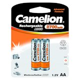 Батарейки CAMELION R 6/2bl 2700 mAh Ni-MH