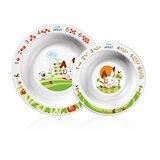 Большая и малая тарелки для детского кормления PHILIPS AVENT SCF708/00