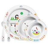 Набор для детского питания PHILIPS AVENT SCF716/00 (тарелки, ложка и вилка)