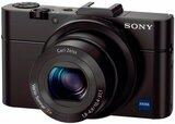 Компактный фотоаппарат Sony Cybershot DSC-RX100M2 Black