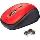 Мышь TRUST Yvi Wireless Mouse Red (19522)
