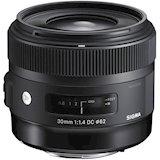 Объектив SIGMA AF 30mm f/1.4 EX DC HSM Nikon