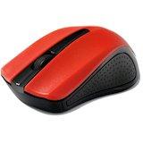 Мышь GEMBIRD MUSW-101-R USB red