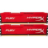Набор KINGSTON HyperX OC KIT DDR3 2x4Gb 1866Mhz CL10 Fury Red (HX318C10FRK2/8)