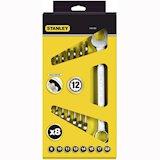Набор гаечных ключей STANLEY MaxiDrive (4-87-054)
