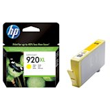 Картридж струйный HP No.920XL OJ6000/6500/7000/7500 yellow (CD974AE)