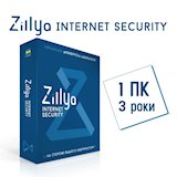 ZILLYA Internet Security, 1 PC 3 Year