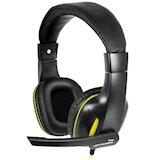 Гарнитура GEMIX W-390 Black-yellow