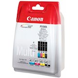 Картридж Canon CLI-451 multi CMYB (6524B004)