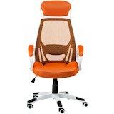 Кресло руководителя SPECIAL4YOU Кресло офсное  Briz orange (E0895)