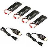 Набор аккумуляторов HUBSAN H502E Battery Pack