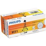 Галогенная лампа PHILIPS H11 Vision 3200K 1 шт/картон (12362PRC1)