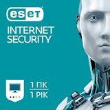 ESET Internet Security 1 пристрiй 1 рiк
