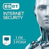ESET Internet Security 1 пристрiй 3 роки