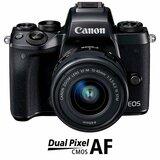 Системный фотоаппарат CANON EOS M5 + 15-45 IS STM Kit Black