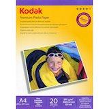 Фотобумага KODAK глянц. 230г/м, A4, 20л. карт.уп. (CAT5740-810)