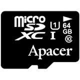 Карта памяти APACER microSDXC 64GB UHS-I U1 (AP64GMCSX10U1-R)