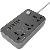 Сетевой удлинитель PROMATE Powerstrip-3 Black
