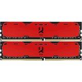 Набор GOODRAM DDR4 8GB 2400MHz (IR-R2400D464L15S/8GDC)