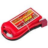 dinogy Li-Pol 1000mAh 11.1V 3S 30C 18x35x68мм T-Plug