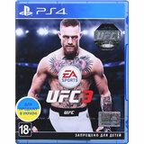 Игра EA SPORTS UFC 3 для PS4