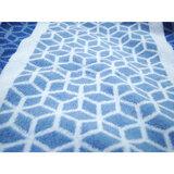 cawo Рушник 100% cotton Jacquard, 70х140см, синій