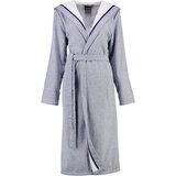 cawo Халат жін , cotton 100% , Hood, синій, розмір 42