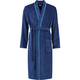 cawo Халат чол, cotton 100% , Kimono, синій, розмір 48